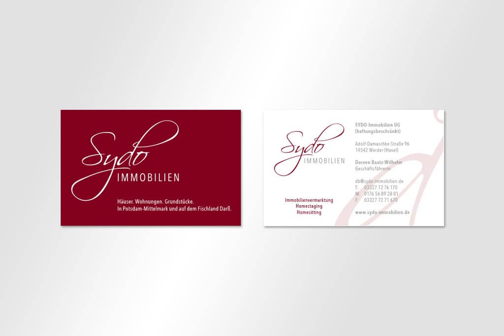 Corporate Design Sydo Immobilen | Mattheis Werbeagentur