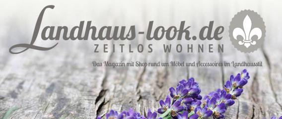 Landhaus-Look – Zeitlos Wohnen Landhaus.look.de Website Lavendel Orchidee Pressearbeit Text Claudia Mattheis