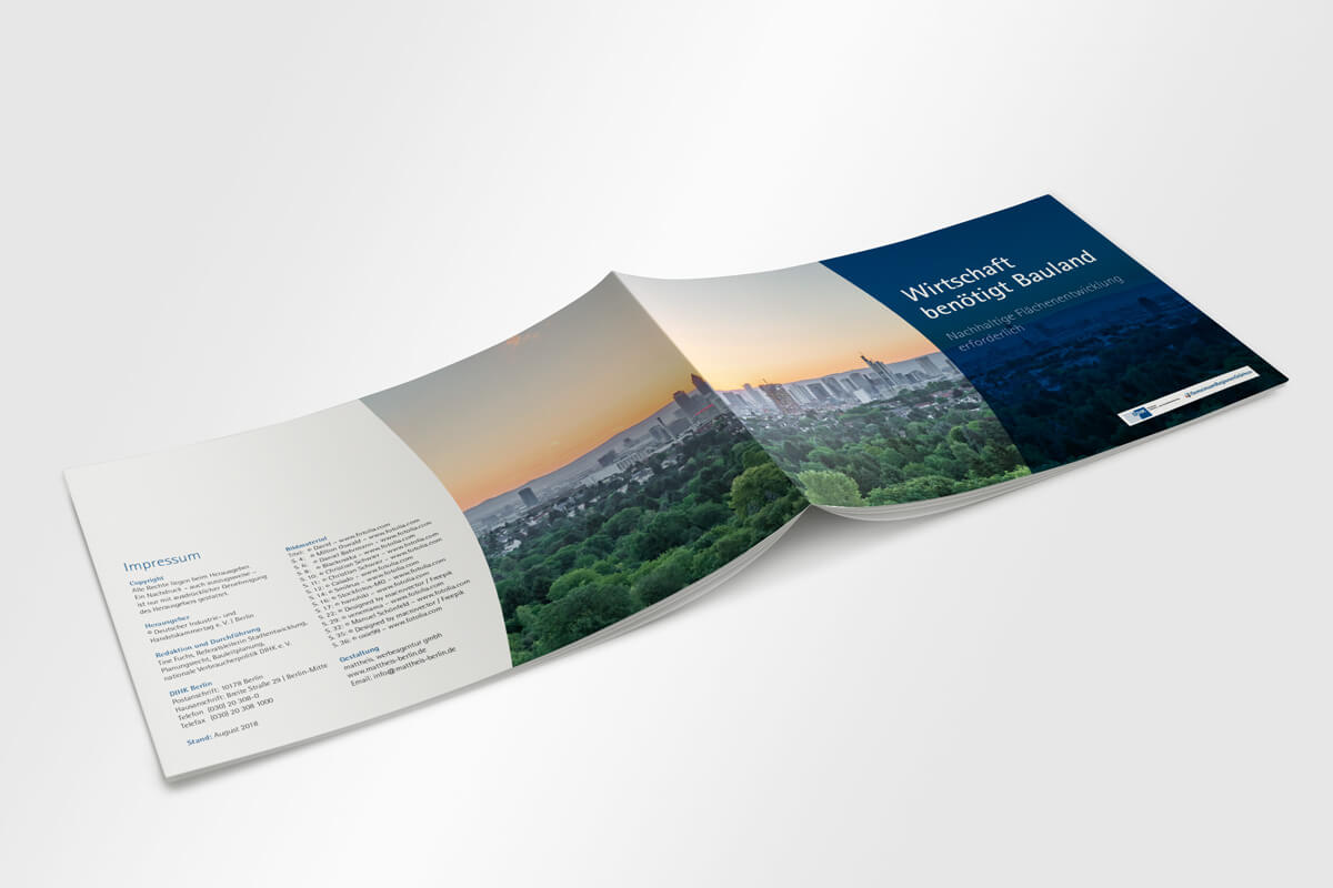 DIHK Broschüre Umschlag | mattheis. werbeagentur gmbh