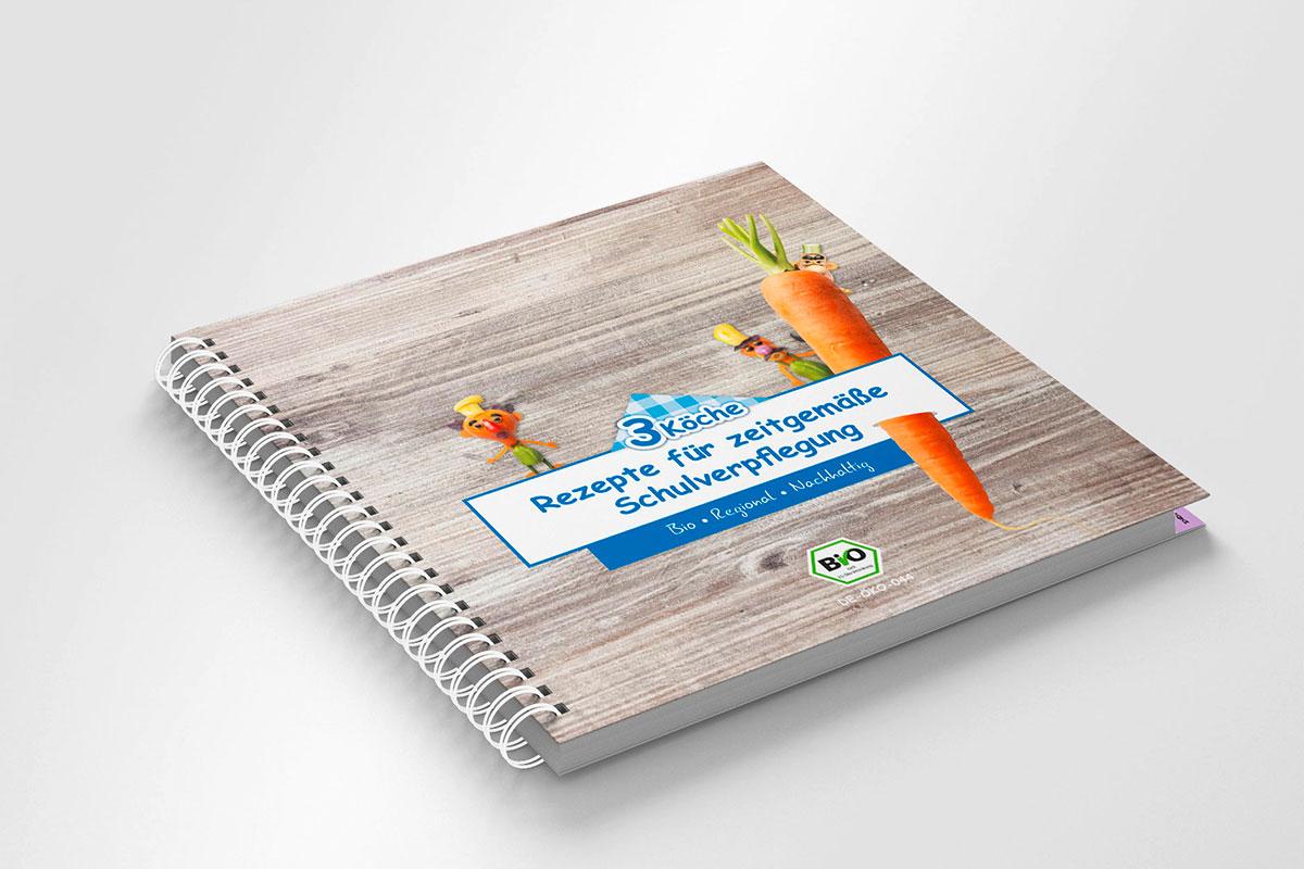 Drei Koeche-Broschüre