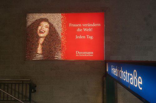 Dussmann das KulturKaufhaus internationaler Frauentag – Kampagne