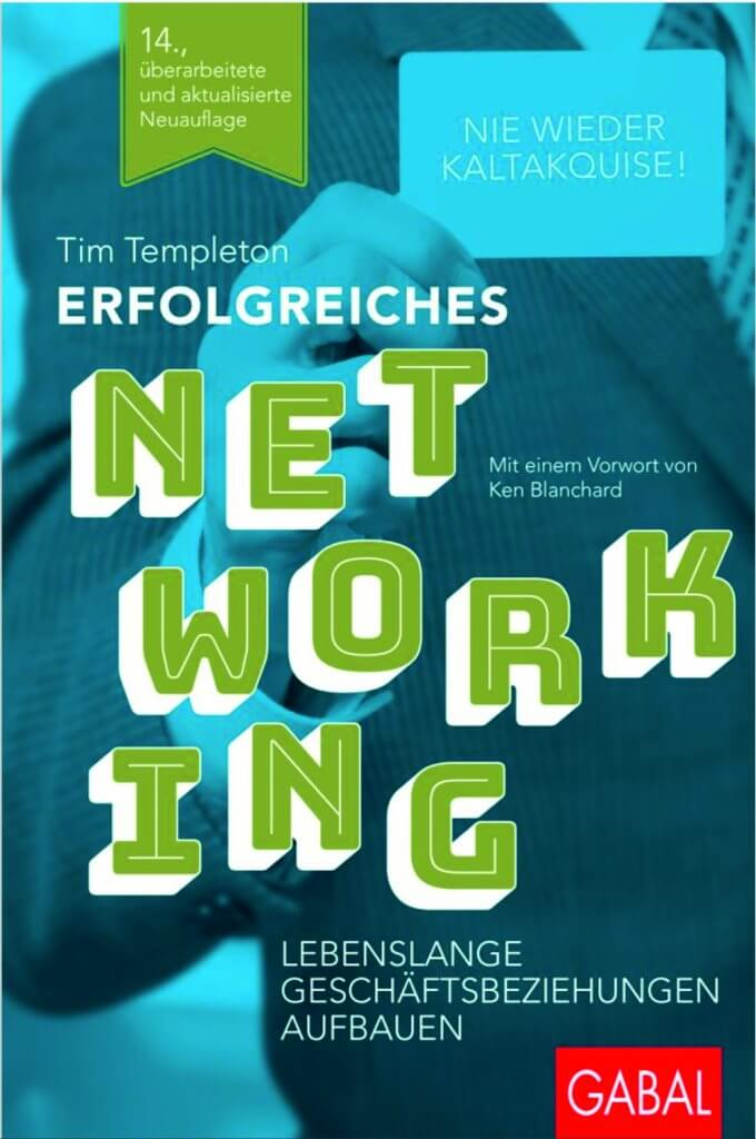Erfolgreiches Networking von Tim Templeton – Buchtipp |mattheis.werbeagentur