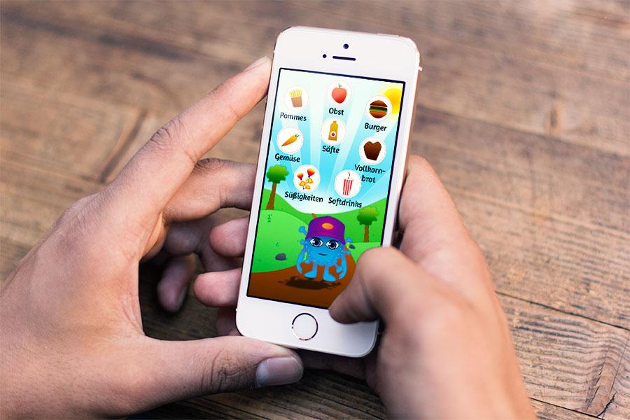 App Spiel Ernährung für Kinder