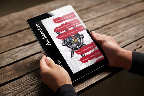 Aschamdon App Titelbild, Amizaras Chroniken mit Gamification