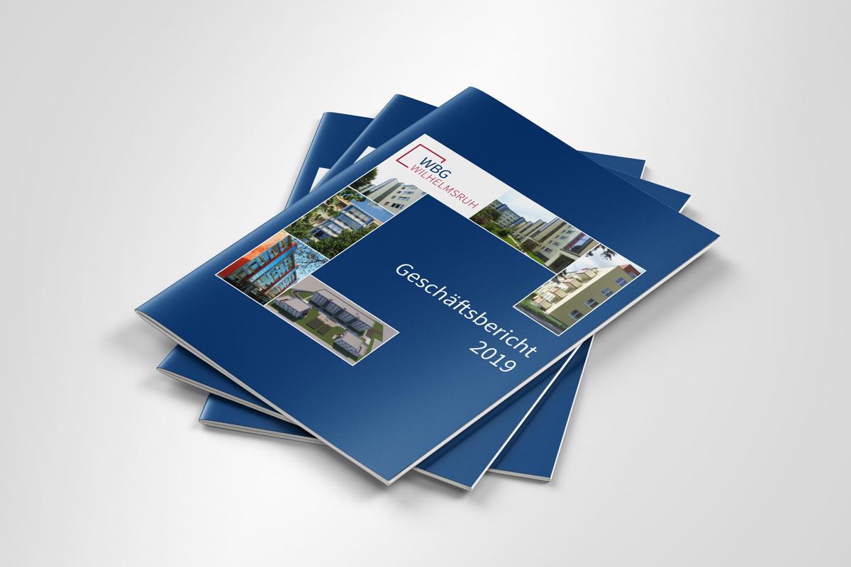 Geschäftsbericht Cover WBG Wilhelmsruh