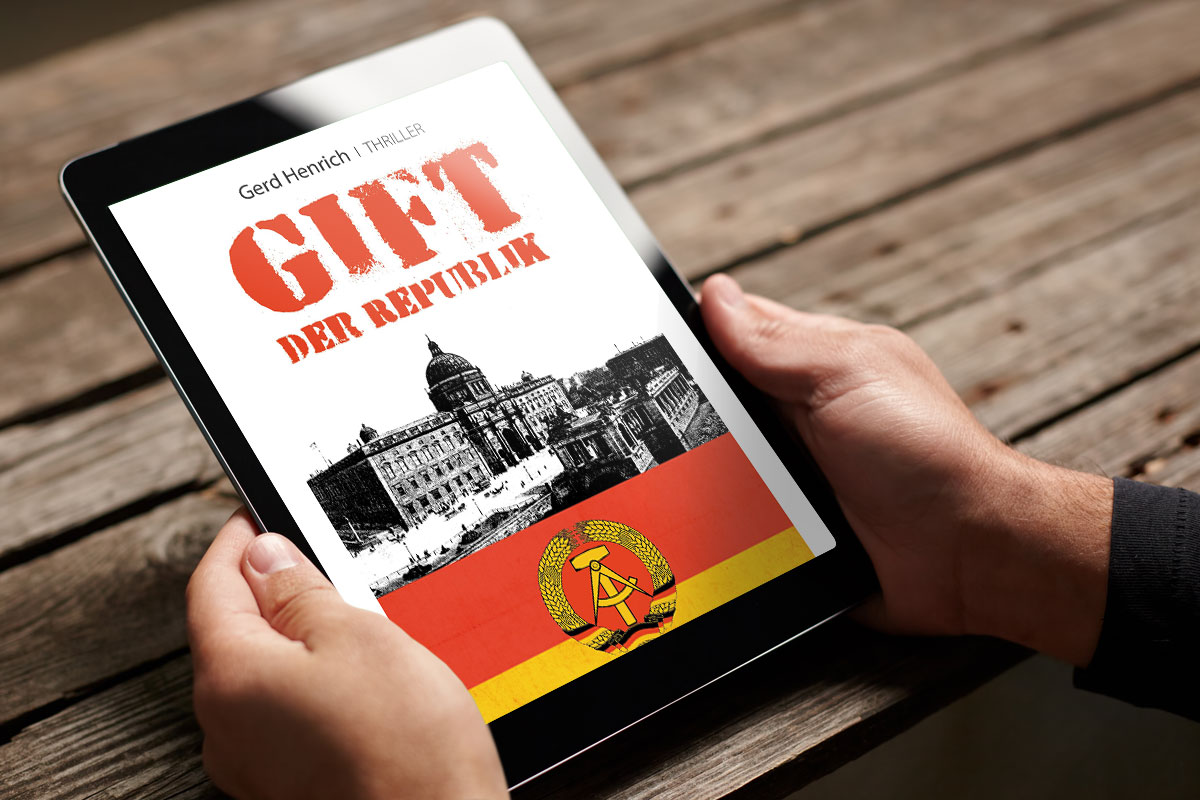 Cover Buch-App Gift der Republik Pro-Talk Verlag Autor Gerd Henrich