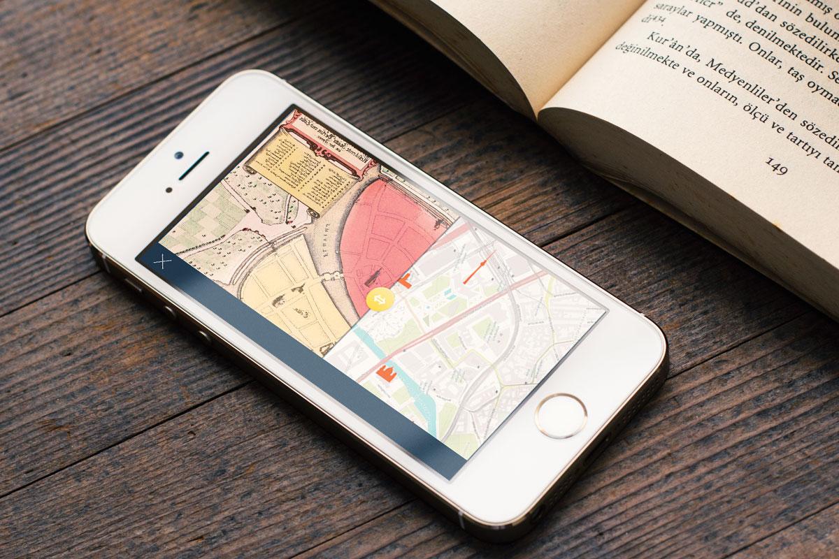 Berlin heute und 1451 Jahren Buch-App Gift der Republik
