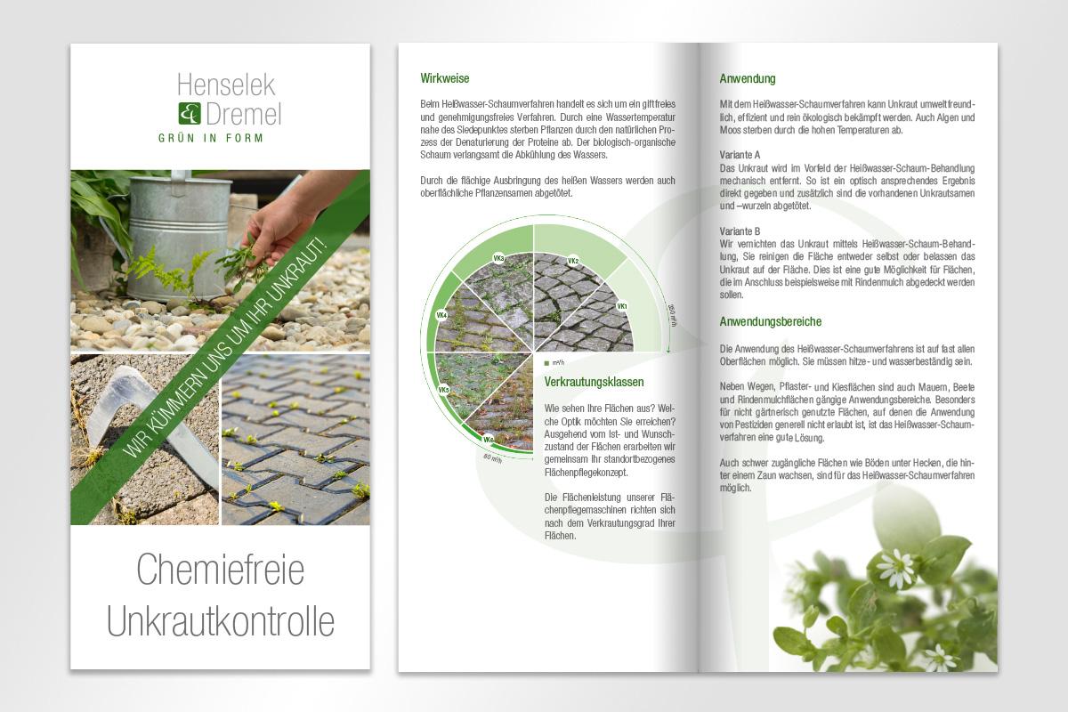 Henselek Dremel Flyer Heißwasser-Schaumverfahren