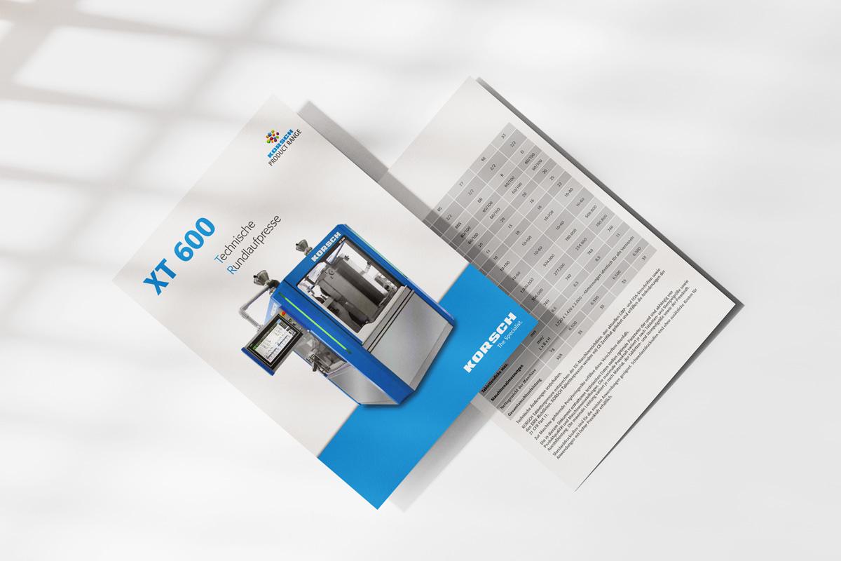 Technisches Datenblatt KORSCH TRP 900
