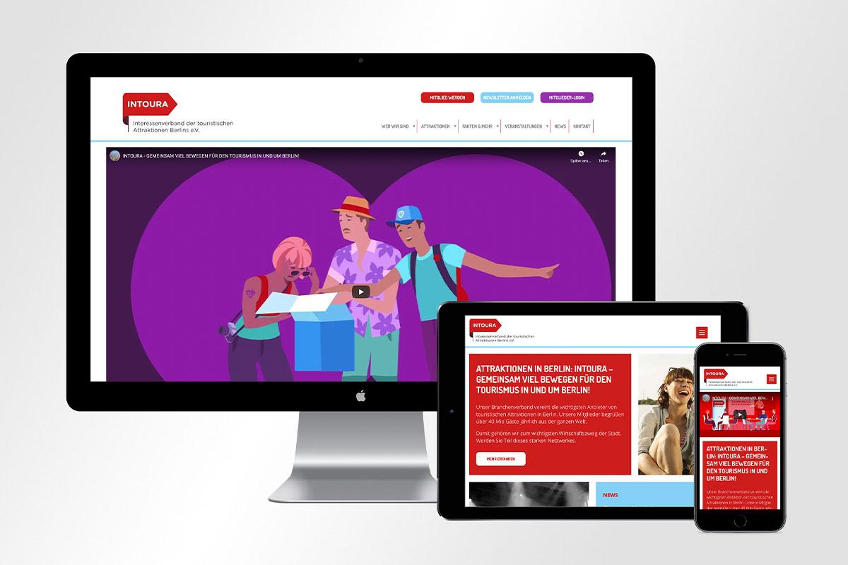 Intoura Webdesign Relaunch 2021