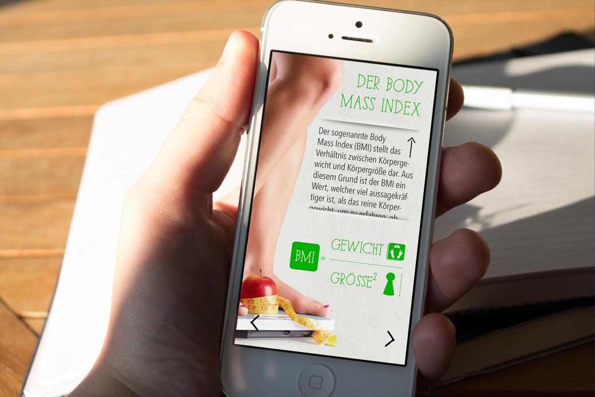 KernGesund Ernährungsapp BMI Erklärung