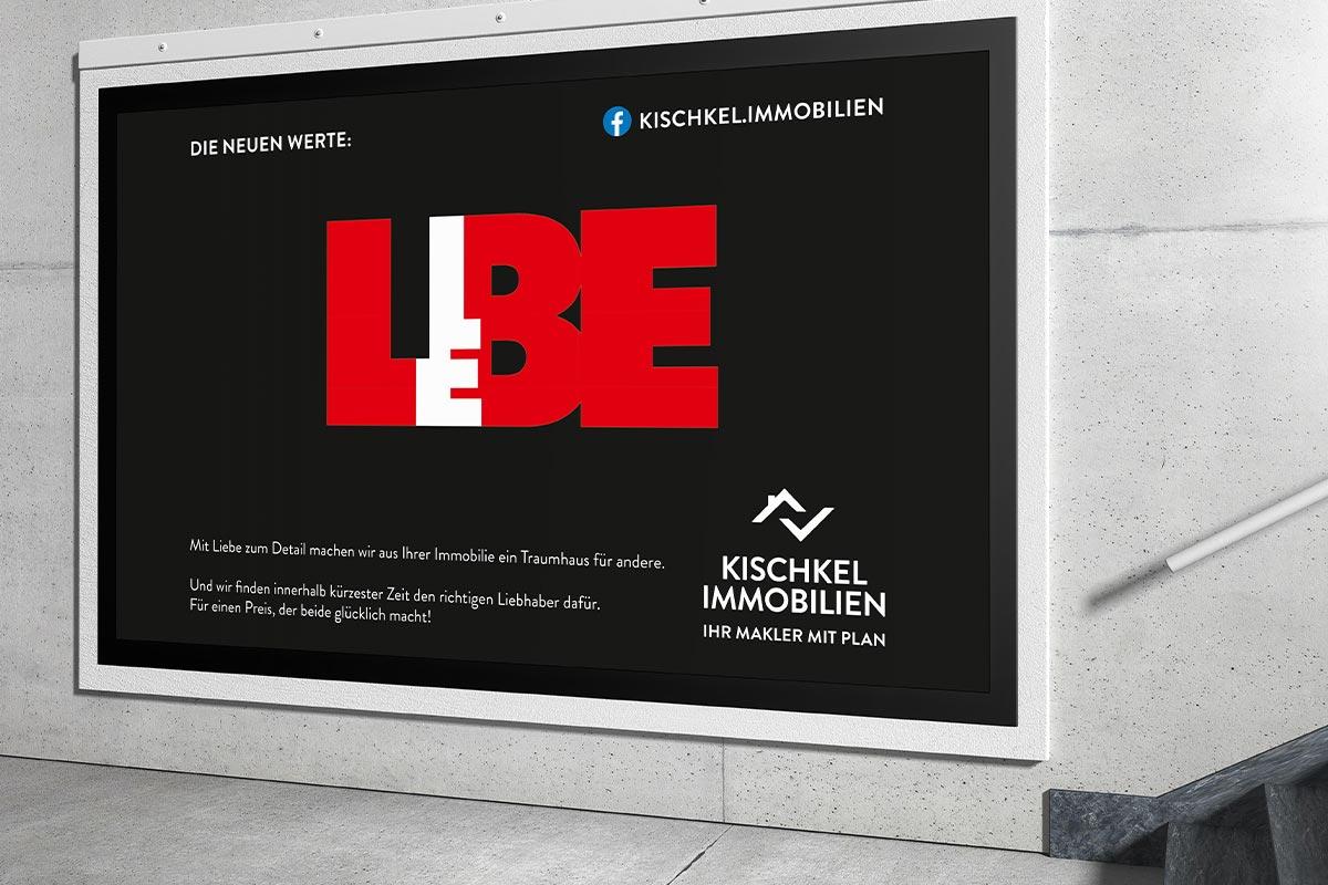 Kischkel Immobilien Plakate Liebe