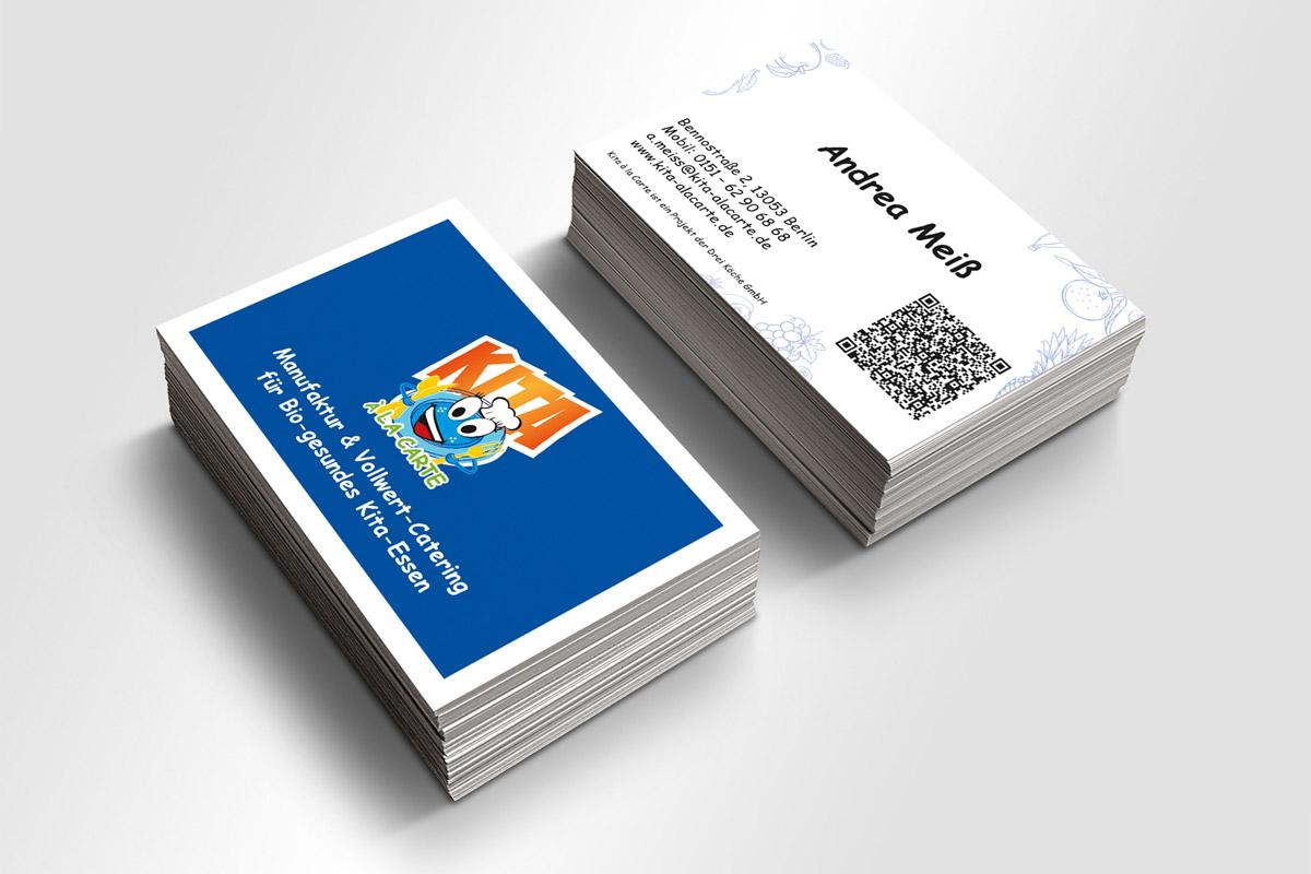 Visitenkarte Kita á la Carte | mattheis. werbeagentur gmbh