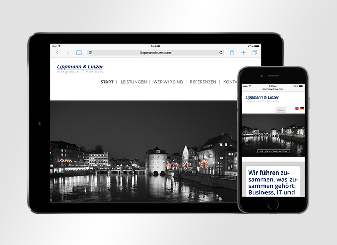 Lippmann Linzer Webdesign