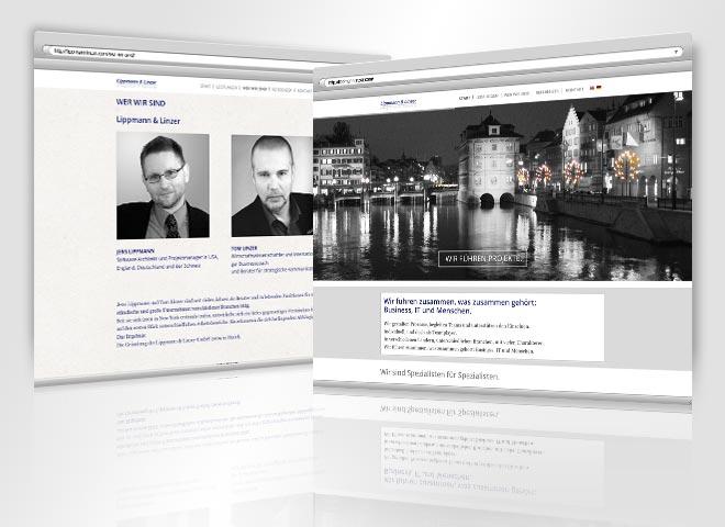 Webdesign Lippmann Linzer
