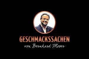 Geschmackssachen von Berhard Moser Logogestaltung