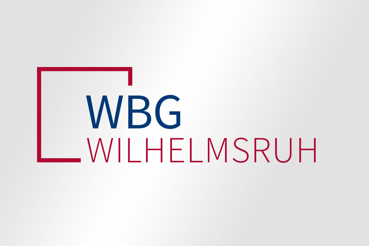 Logogestaltung WBG Wilhelmsruh
