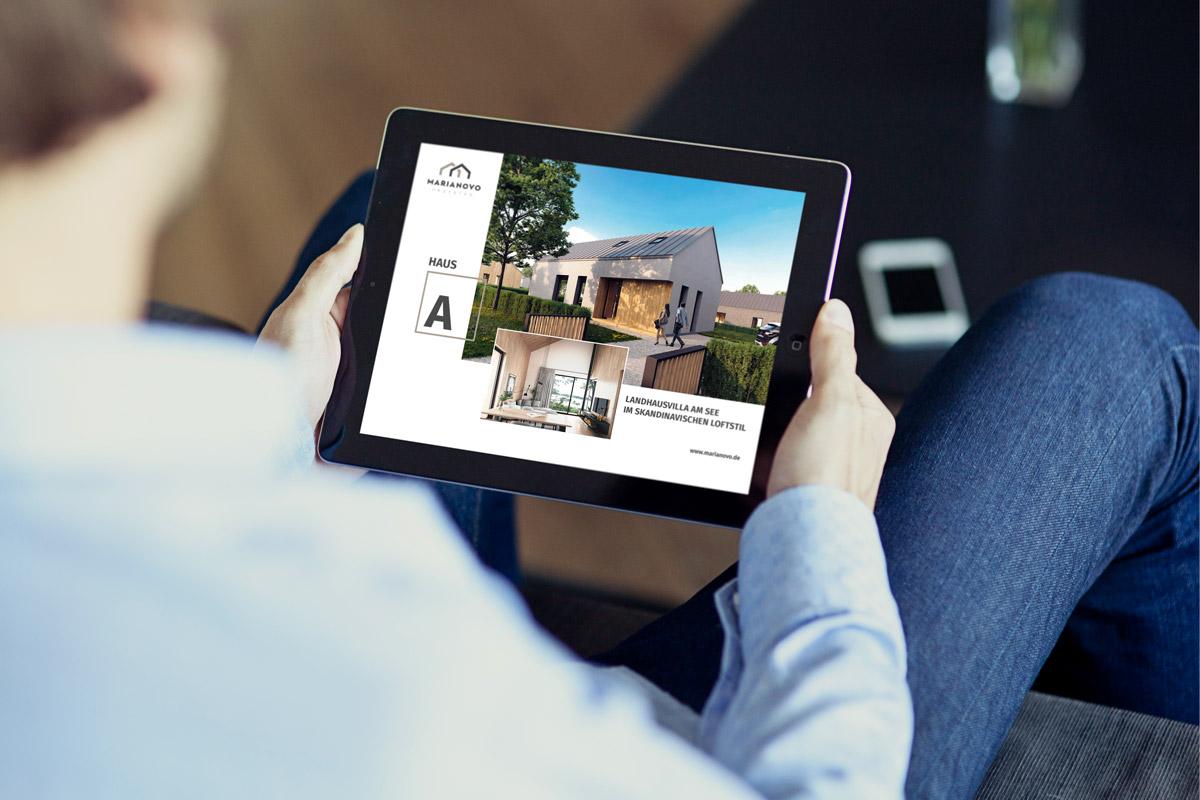 Marianovo Broschüre Haustyp A Online
