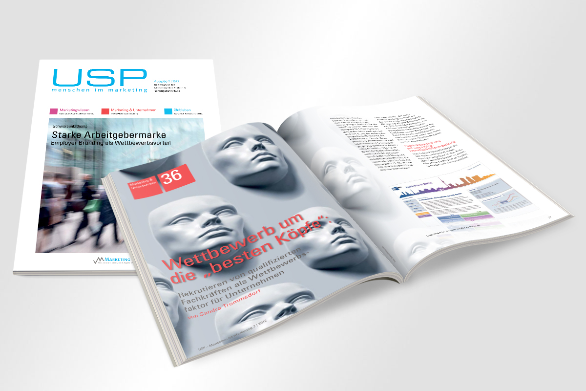Marketing Club Berlin Clubmagazin USP Ausgabe 02/2012