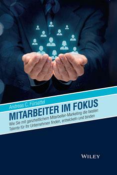 Buchcover von Mitarbeiter im Fokus geschrieben von Andreas C. Fürsattel