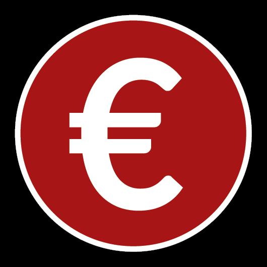 Icon mit Eurozeichen
