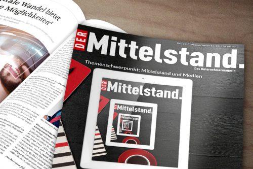 BVMW Magazin Der Mittelstand. Ausgabe 04/2016