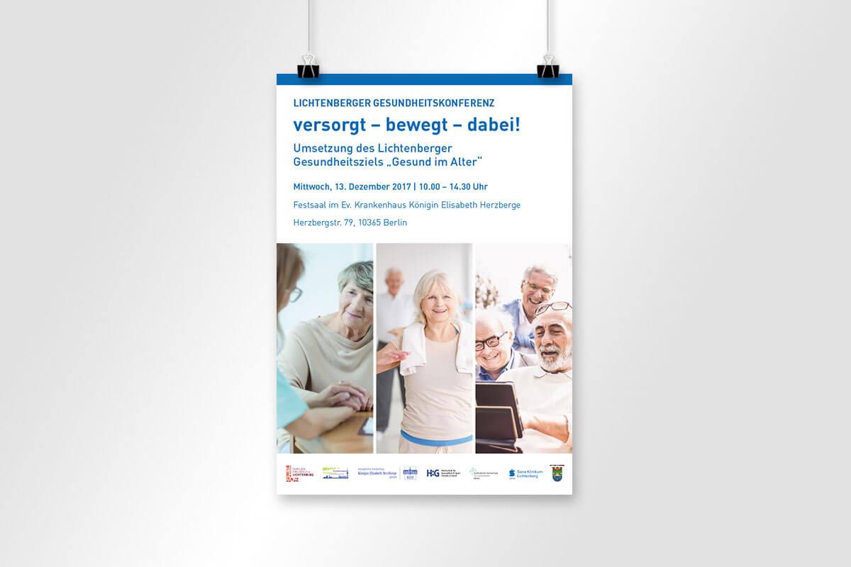 Verbände und Behören: Plakatgestaltung für das BA Lichtenberg | mattheis. Werbeagentur