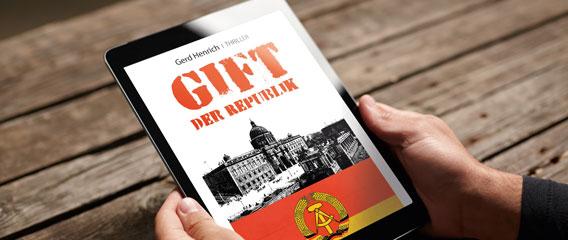 Buch-App Gift der Republik – Ipad Ansicht