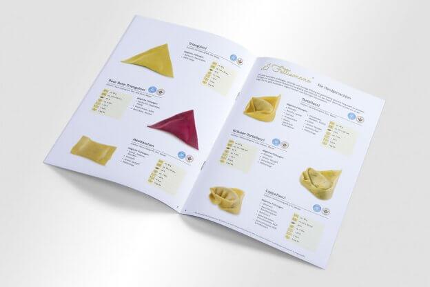 Mondo Pasta Manufaktur Produktkatalog