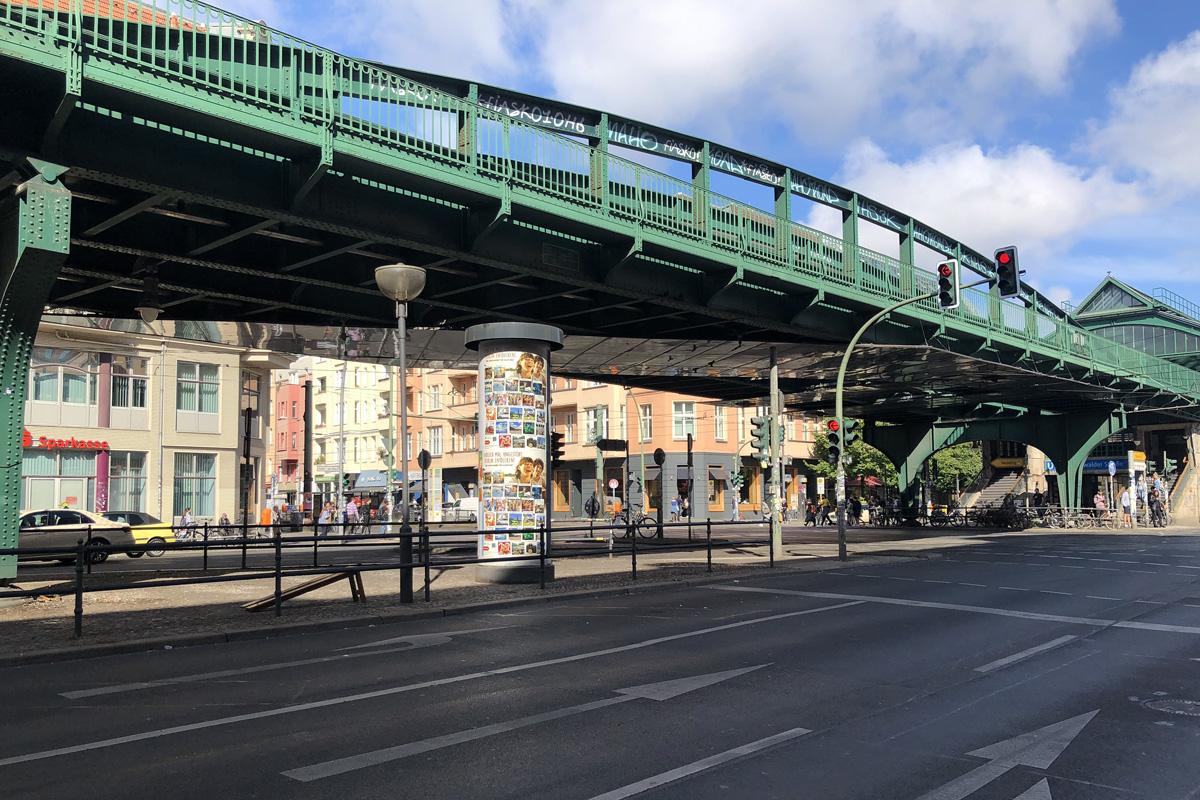Plakatkampagne Intoura Eberswalder Straße