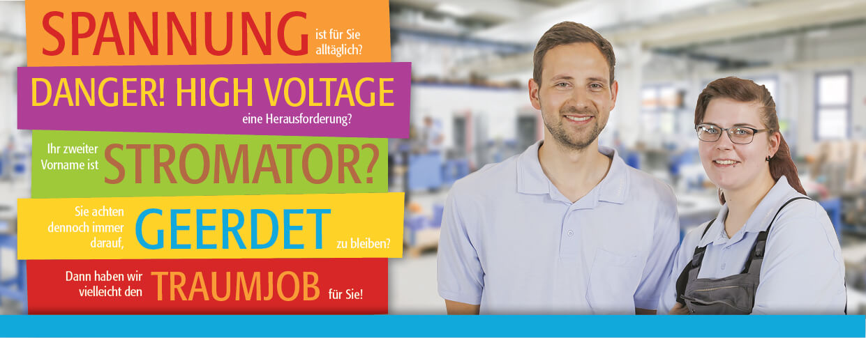 Recruiting-Kampagne-Elektriker