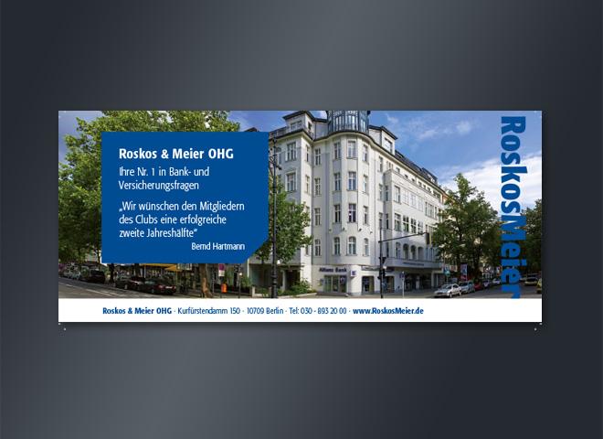Roskos Meier Allianz Versicherung Kurfürstendamm Berlin altbau baum bernd hartmann gestaltung mattheis werbeagentur berlin