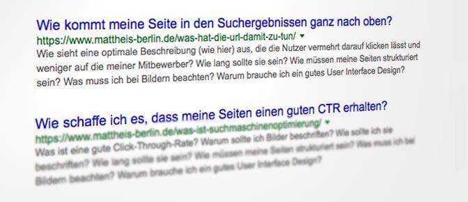 SEO Agentur Berlin SERP-Snippet