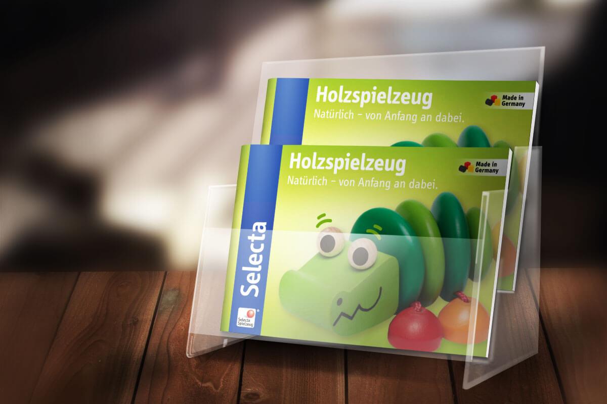 Schmidt Spiele – Selecta Prospekt Display |mattheis. werbeagentur gmbh