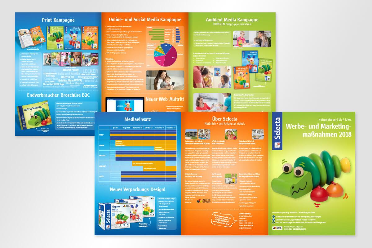 Selecta Sales Folder | mattheis. werbeagentur gmbh