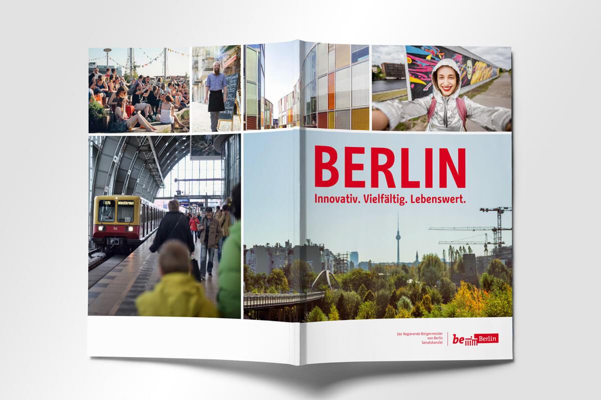Senatskanzlei Berlin Broschüre