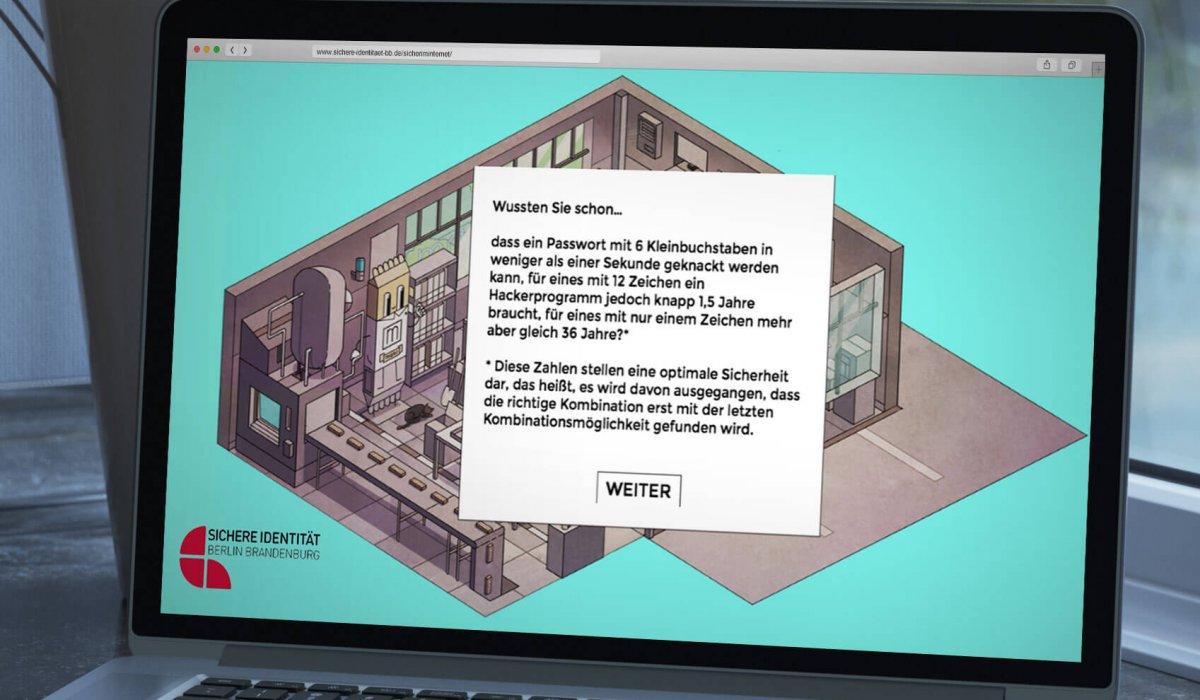 a93268f06020 Bäckermann Key Visual Sichere Identitaet Browser-Games