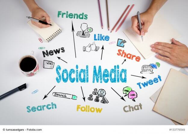 Social Media Kanäle für Mittelständler – Marketingkolumne Claudia Mattheis, DER Mittelstand. Ausgabe 03/18 © tumsasedgars von fotolia.com