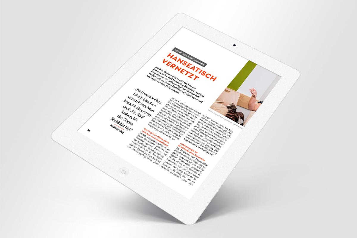 2020: Stiftung Bürgermut Magazin E-Book