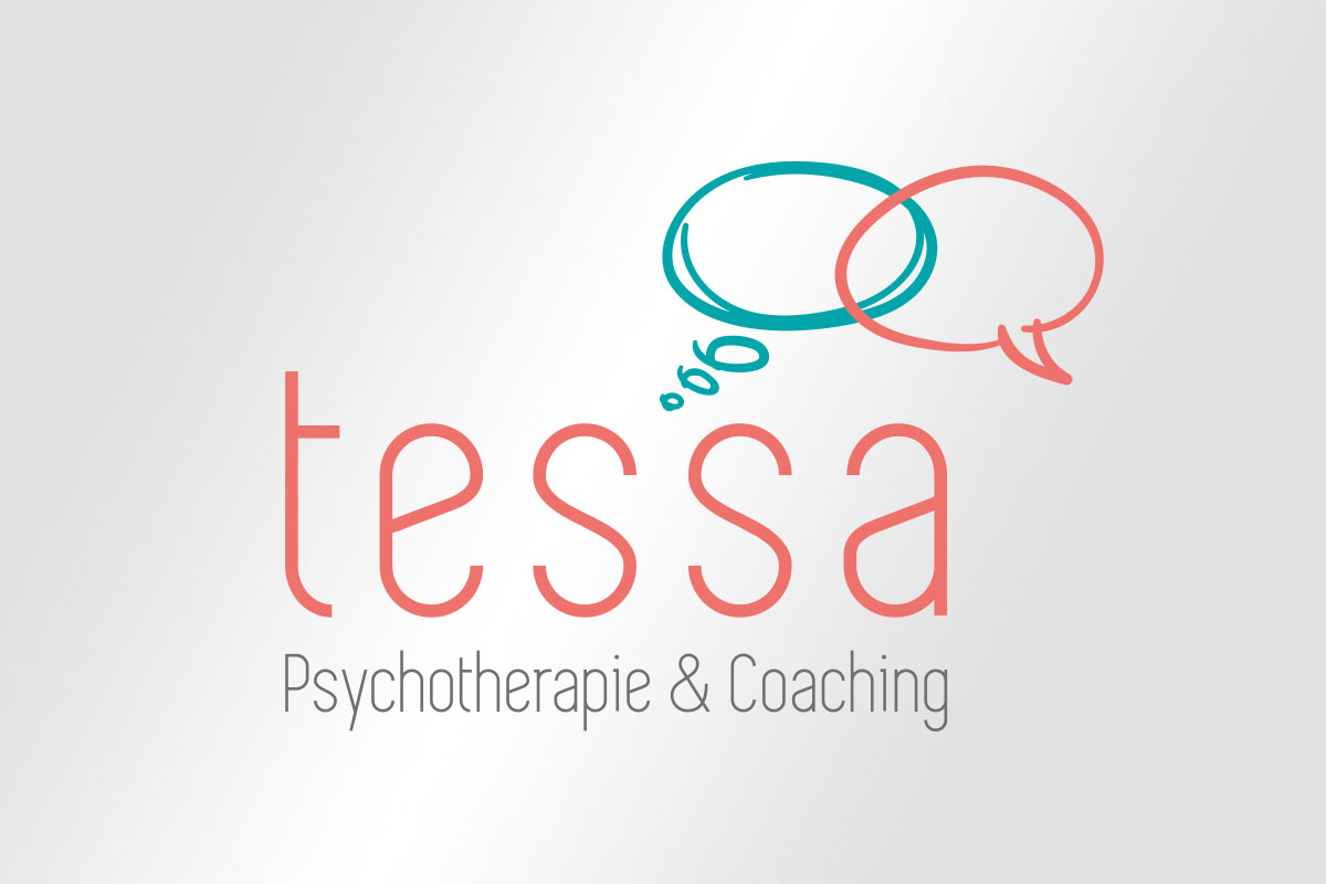 Corporate Design Logo Tessa – Psychotherapie