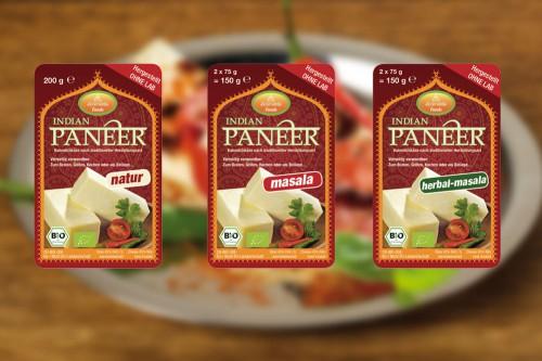 Verpackungsdesign Ayurveda Foods