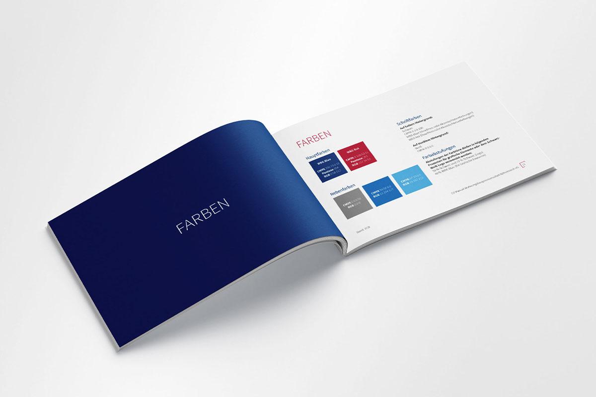 WBG Wilhelmsruh Manual Styleguide Farben