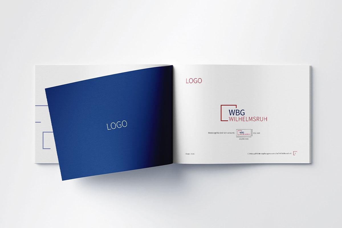 WBG Wilhelmsruh Manual Styleguide Logo
