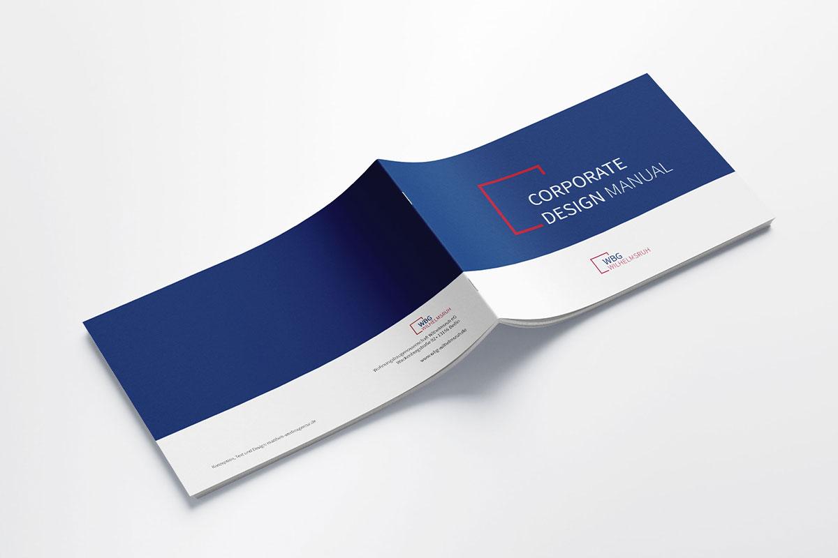 WBG Wilhelmsruh Manual Styleguide Umschlag