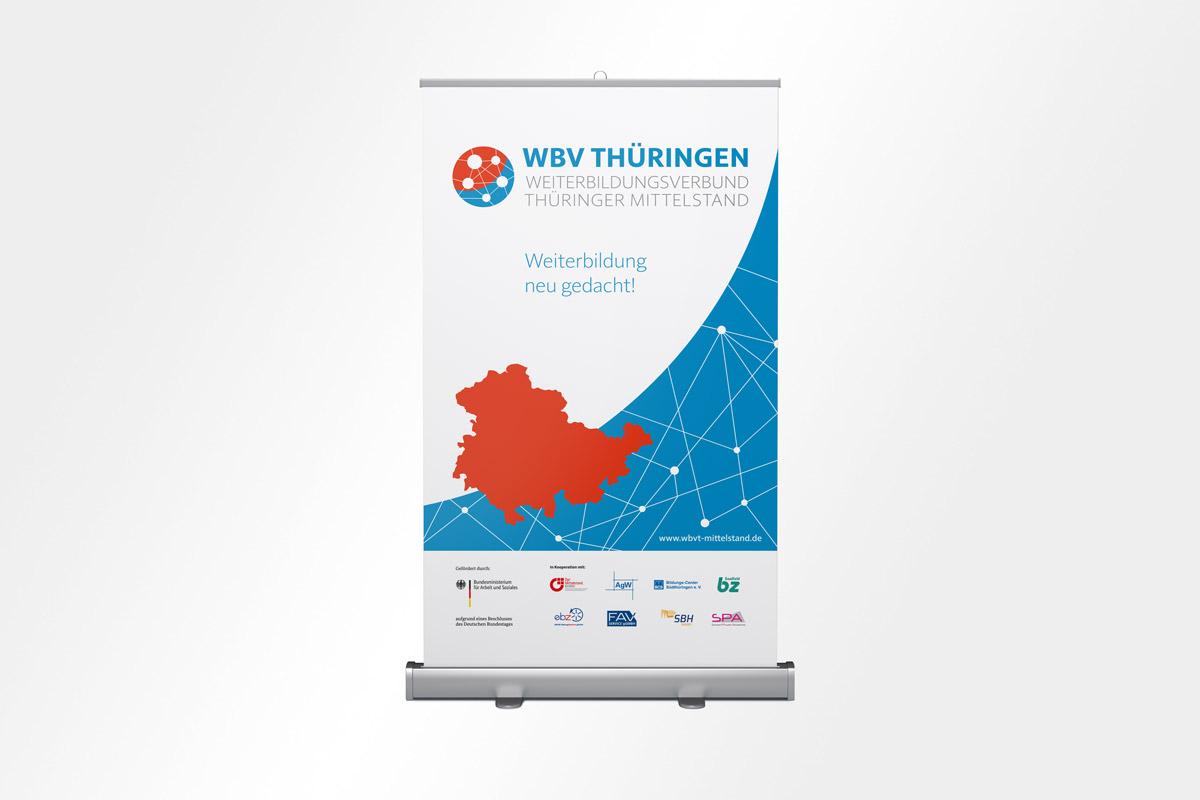 WBV Thüringen Roll-up Corporate Design