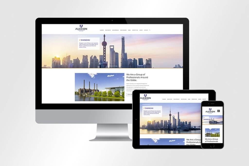 Webdesign Alexion | Mattheis Werbeagentur