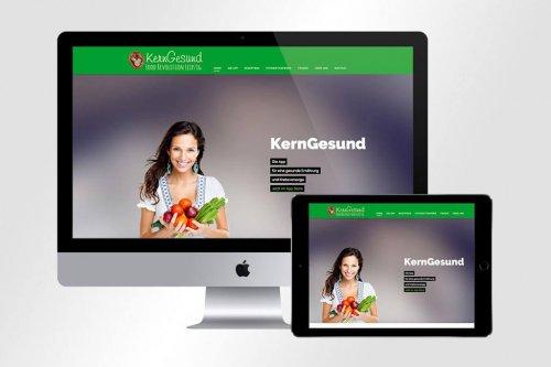 Webdesign KernGesund | Mattheis Werbeagentur