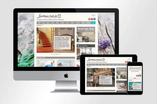 Webdesign Landhaus-Look | Mattheis Werbeagentur