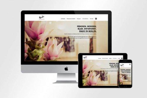 Webdesign Nardini Collection   Mattheis Werbeagentur