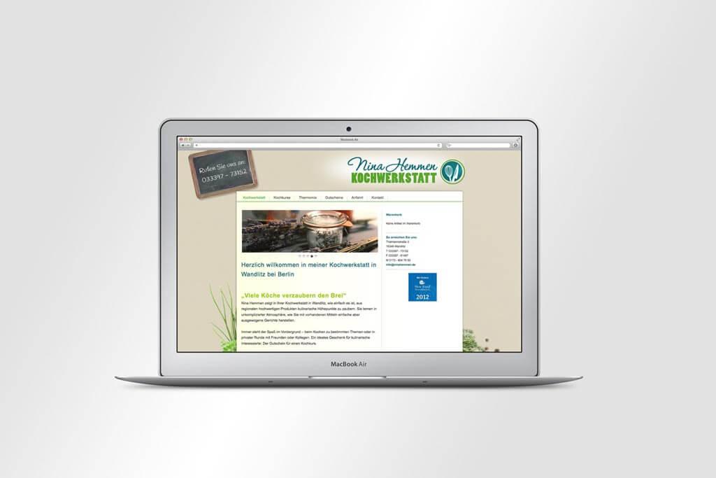 Webdesign Nina Hemmen | Mattheis Werbeagentur